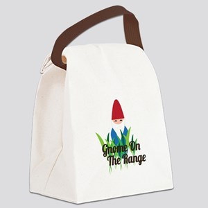 Gnome On The Range Canvas Lunch Bag