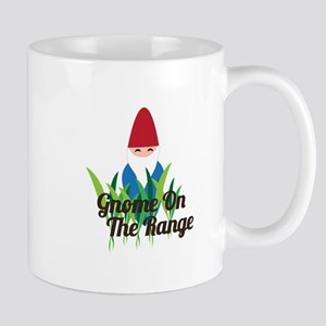 Gnome On The Range Mugs