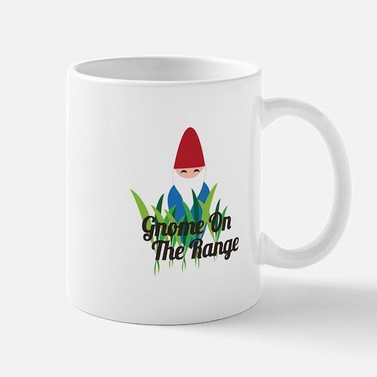 Gnome On The Range Mugs