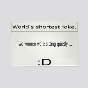 Two women Rectangle Magnet