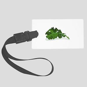 Kale Leaf Luggage Tag