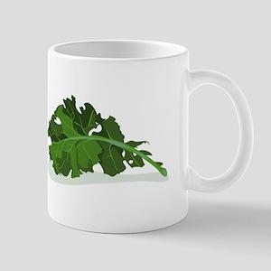 Kale Leaf Mugs