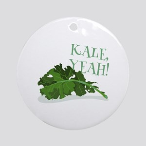Kale Yeah Ornament (Round)