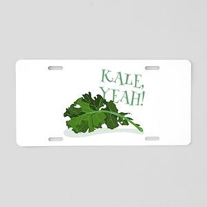 Kale Yeah Aluminum License Plate
