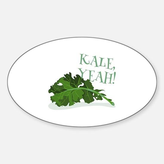 Kale Yeah Decal