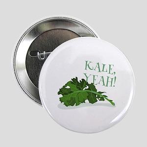 "Kale Yeah 2.25"" Button"