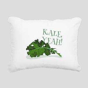 Kale Yeah Rectangular Canvas Pillow