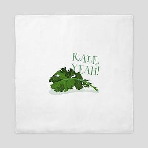 Kale Yeah Queen Duvet