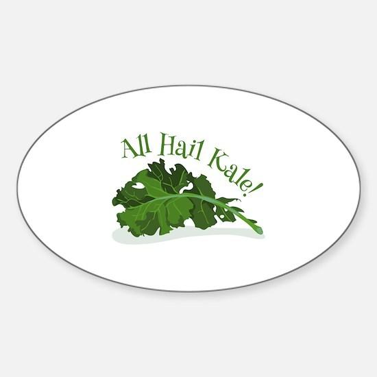 Hail Kale Decal