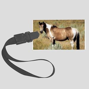 Horse photography 2c. Large Luggage Tag