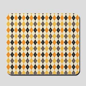 Halloween Argyle Pattern Mousepad
