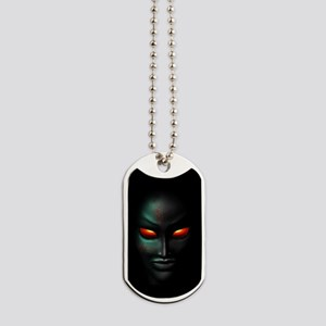 Zombie Ghost Halloween Face Dog Tags