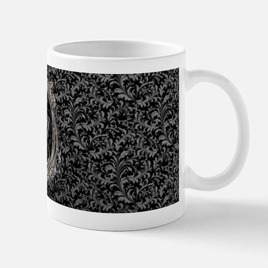 Elegant Damasks Frame Mug