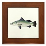 Barramundi Framed Tile