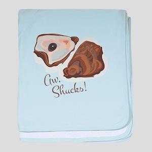 Aw, Shucks! baby blanket