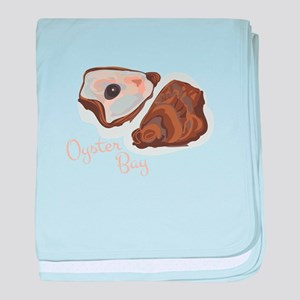 Oyster Bay baby blanket