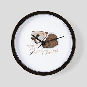 World Oyster Wall Clock