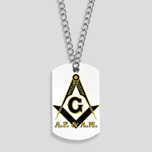 Masonic A.F. & A.M. Dog Tags