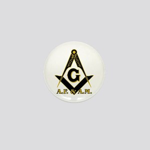 Masonic A.F. & A.M. Mini Button