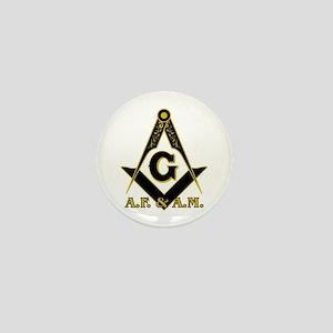 Masonic A.F. & A.M. Mini Button