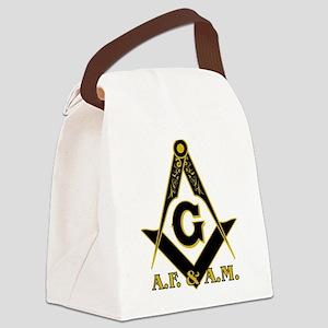 Masonic A.F. & A.M. Canvas Lunch Bag