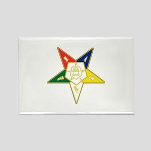 Eastern Star Rectangle Magnet