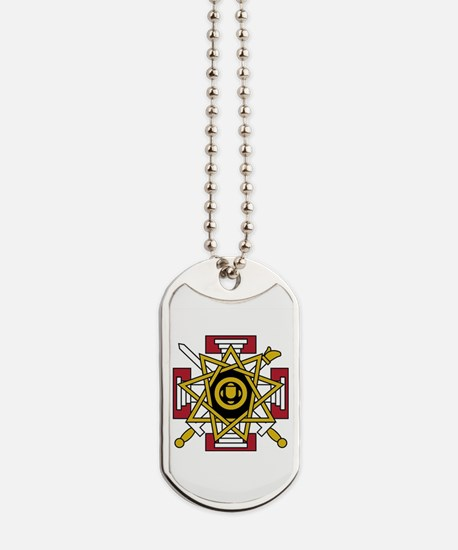 33rd Degree Jewel Dog Tags