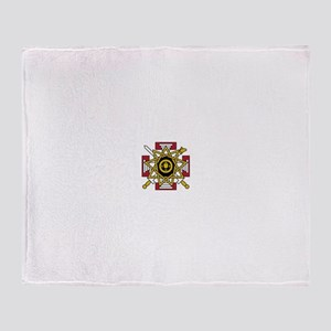 33rd Degree Jewel Throw Blanket