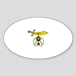 Shriner Sticker (Oval)