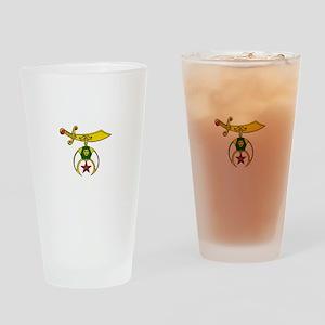 Shriner Drinking Glass