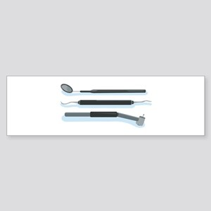 Dentist Tools Bumper Sticker