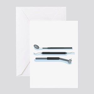 Dentist Tools Greeting Cards