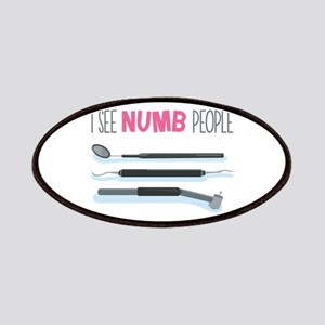 I See Numb People Patches