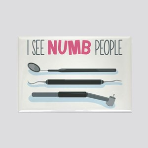 I See Numb People Magnets