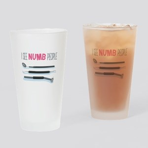 I See Numb People Drinking Glass