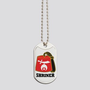 Shriner Fez Dog Tags