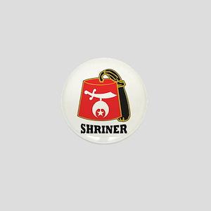 Shriner Fez Mini Button