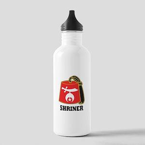 Shriner Fez Stainless Water Bottle 1.0L
