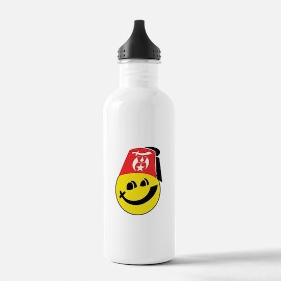 Smiling Shriner Water Bottle