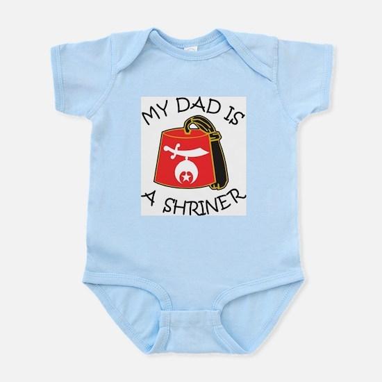 My Dad Is A Shriner Infant Bodysuit