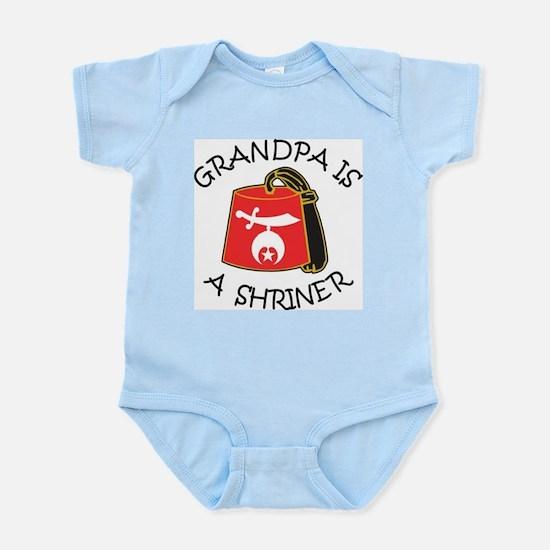 My Grandpa Is A Shriner Infant Bodysuit