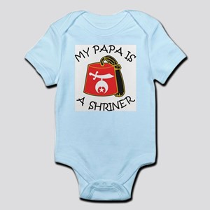 My Papa Is A Shriner Infant Bodysuit