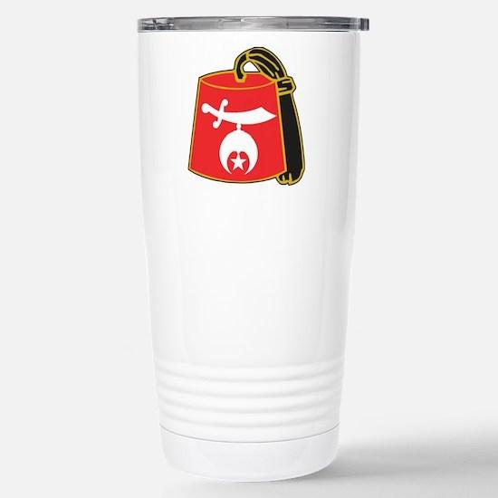 Shriner Fez Travel Mug