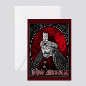 Vlad Dracula Gothic Greeting Card