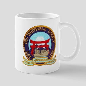 USS WHITFIELD COUNTY Mug