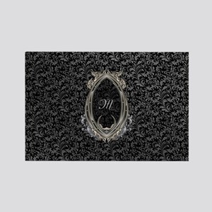 Elegant Damasks Frame Rectangle Magnet