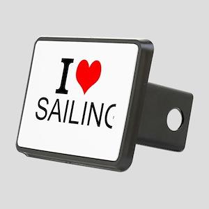 I Love Sailing Hitch Cover