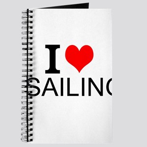 I Love Sailing Journal