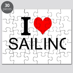 I Love Sailing Puzzle