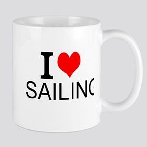 I Love Sailing Mugs